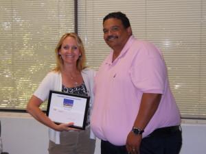 Dupont Volunteer Recognition Award