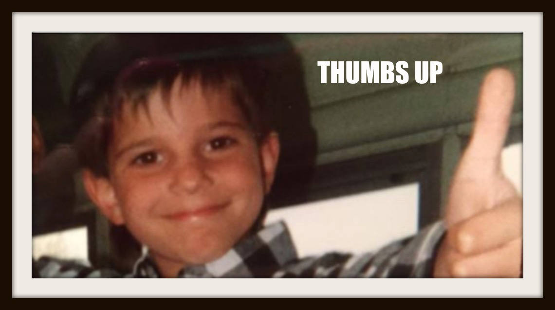 Joshua Harr Shane Thumbs Up